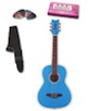 Daisy Rock Girl Guitars: Jr. Miss Acoustic Guitar Pack (Cotton Candy Blue)