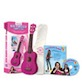 Daisy Rock Girl Guitars: Girl's Ukulele Starter Pack (Atomic Pink)