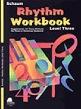 Rhythm Workbook, Level 3