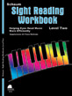 Sight Reading Workbook, Level Two