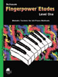 Fingerpower® Etudes, Level 1