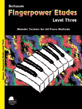 Fingerpower® Etudes, Level 3