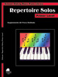 Making Music Piano Library: Repertoire Solos, Primer Level