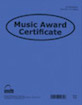Music Award Certificate (Pack of 12)